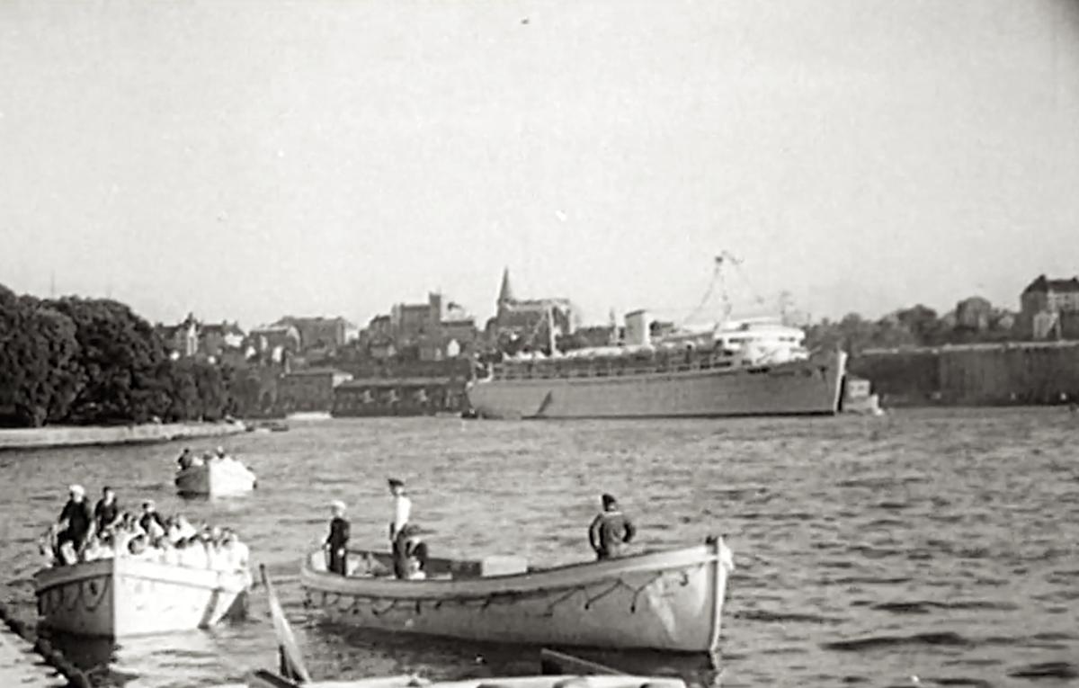 """Historiens värsta fartygskatastrof """"MV Wilhelm Gustloff"""" 1945"""