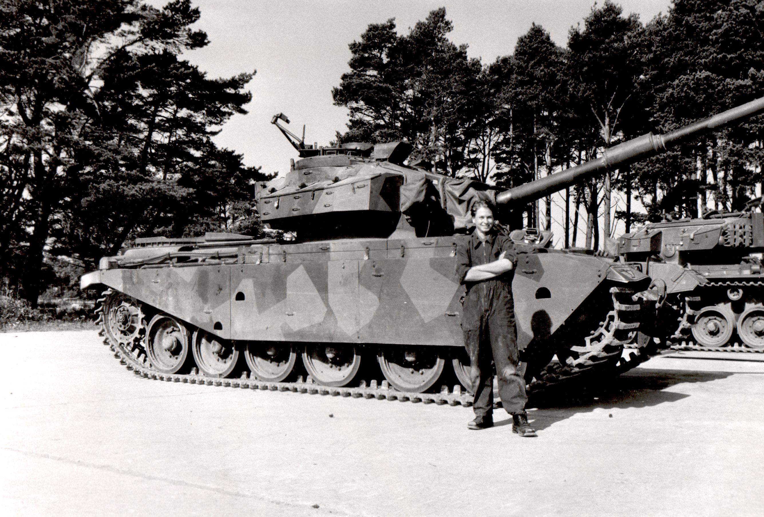 Om stridsvagnar och Sveriges försvar